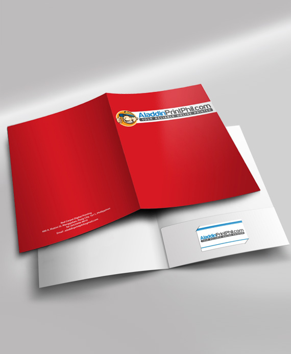 Presentation Folder Design And Printing Aladdinprintphil