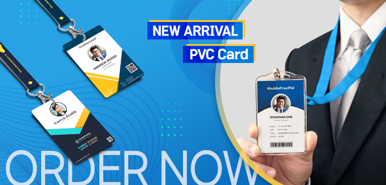 Make your own PVC cards online!