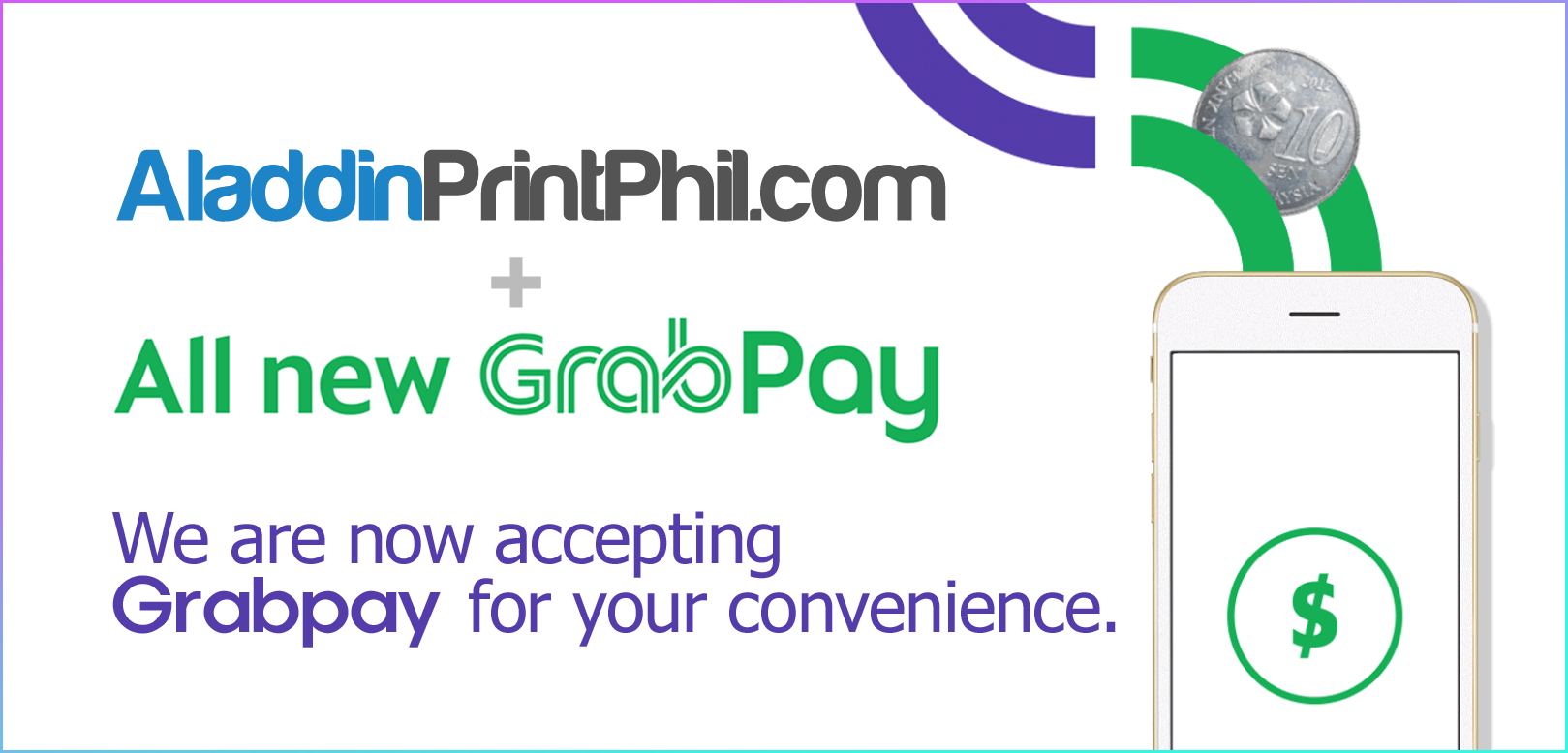 Pay with Grab pay!