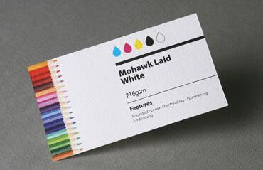 High standard business cards aladdinprintphil mohawk laid white 216 gsm colourmoves