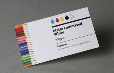 Foil stamping business cards aladdinprintphil gloss laminated white 270 gsm colourmoves