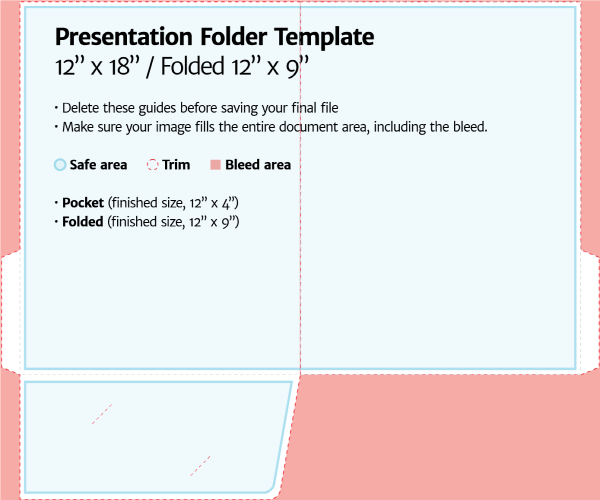 Beautiful folder templates illustrator pictures for Pocket folder template illustrator