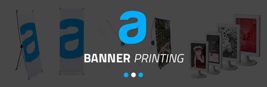 banner printing info title