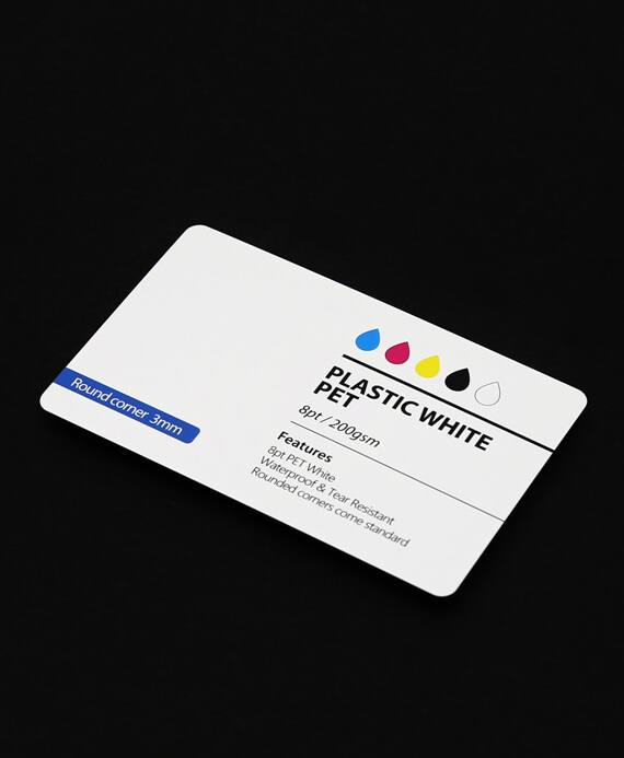 Pet plastic business card printing aladdinprintphil business cards reheart Choice Image